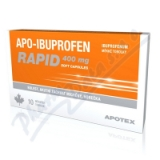 Apo-Ibuprofen Rapid 400mg por. cps. mol. 10x400mg
