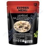 EXPRES MENU Vepřové na žampionech 2 porce