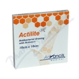 Actilite 10x10cm krytí antimikrob. s medem 10ks