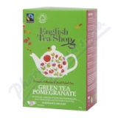 English Tea Shop Bio Fairt. Zelen. čaj Granát. j. 20s.