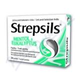 Strepsils Mentol a eukalyptus orm. pas. 24 I