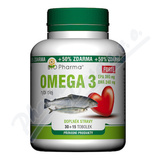 Omega 3 Forte 1200mg tob. 30+15 Bio-Pharma