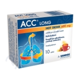 ACC LONG Hot drink 600mg por. plv. sol. 10x600mg