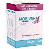 Mobivenal Micro Simple tbl. 100+20
