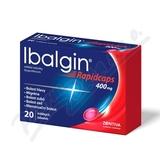 Ibalgin Rapidcaps 400mg por. cps. mol. 20x400mg
