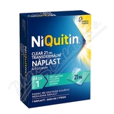 Niquitin Clear 21mg tdr. emp.  7ks