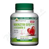 Koenzym Q10 Forte 60mg +Vitamín E tob. 60+60 Bio-Ph