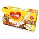 Hami mlíčko s kaší kakao 2x250ml 8M