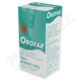 Orofar 2 mg-ml+1. 5 mg-ml orm. spr. sol. 1x30ml+apl CZ