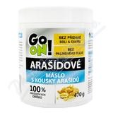 GO ON Arašídové máslo s kousky arašídů 470g