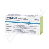 Afternor 1. 5mg tbl. nob. 1