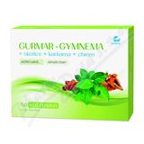 GURMAR-GYMNEMA+skořice+kurkuma 60 vega tob. SETARIA