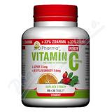Vitamín C 1000mg+šípky 25mg+bioflav. 34mg tbl. 90+30