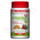 Vitamín C 1000mg+šípky 25mg+bioflav. 34mg tbl. 30+10