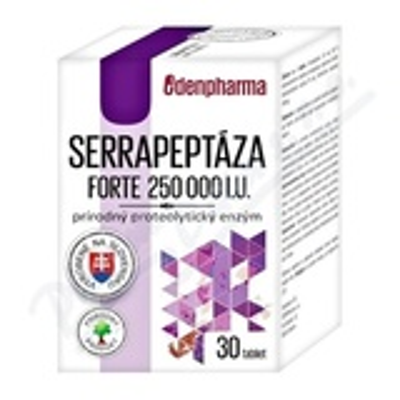 Edenpharma Serrapeptáza forte 250 000 IU tbl. 30
