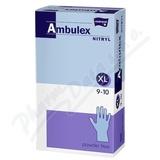 Ambulex Nitryl rukavice nitri. nepudrované XL 100ks