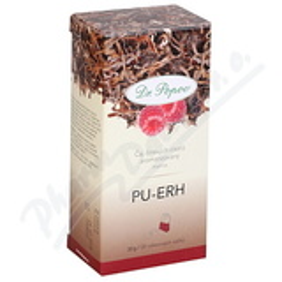 Dr. Popov Čaj Pu-Erh malina n. s. 20x1. 5g
