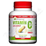 Vitamín C 500mg long effect cps. 60+60 BIO-Pharma