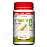 Vitamín C 500mg long effect cps. 30+30 BIO-Pharma
