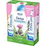 Revital Detox komplex 2 x 20 eff. tbl. +sport. lahev