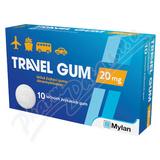 Travel-Gum 20mg por. gum. 10
