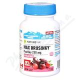 Swiss NatureVia Max brusinky pastilky tbl. 30+6