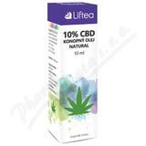 LIFTEA 10% CBD konopný olej 10ml