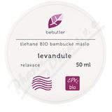 Bebutter Šlehané BIO bamb. máslo levandule 50ml