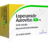 Loperamide Aurovitas 2mg cps. dur. 20x2mg
