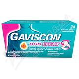Gaviscon Duo Efekt žvýkací tablety tbl. mnd. 24