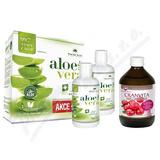 AloeVeraLife aloe 99. 7% 1+1 1000ml+Cranvita 500ml
