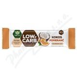 LOW CARB tyčinka kokos&pomeranč 40g TOPNATUR