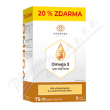 APOROSA Omega 3 rybí olej Forte cps. 75+15