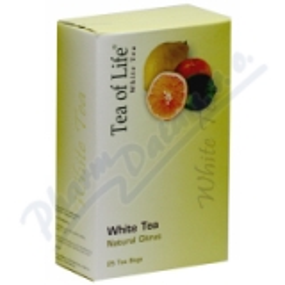 Tea of Life White tea Natural citrus n. s. 25x2g
