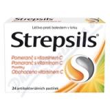 Strepsils Pomeranč s vitamin. C orm. pas. 24