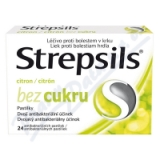 Strepsils Citron bez cukru orm. pas.  24