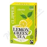 Čaj Clipper green tea with Lemon 20x2g