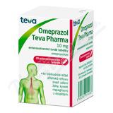 Omeprazol Teva Pharma 10mg por. cps. etd. 28x10mg