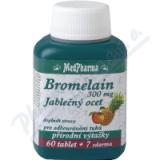 MedPharma Bromelain+jabl. ocet+lecitin tbl. 67