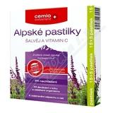 Cemio Alpské pastilky šalvěj a vitamin C pst. 15+5