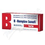 B-Komplex forte Sanofi por. tbl. flm. 20