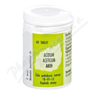 Acidum aceticum AKH por.tbl.60