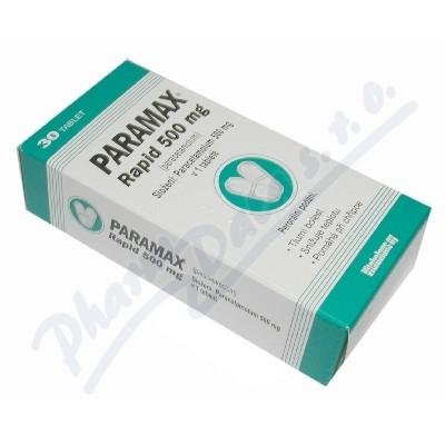 Paramax Rapid 500mg por.tbl.nob.30x500mg